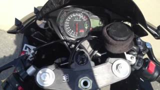 FIXED MY GSXR 600** electrical problem  FI code c13,c14,c15