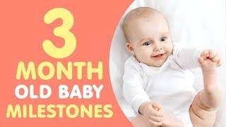 3 Months Old Baby Milestones