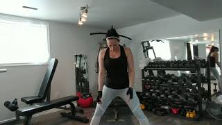 Workout With Me Video: Lower Body