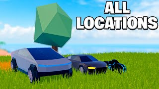 Where are ALL the VEHICLES in JAILBREAK - Roblox