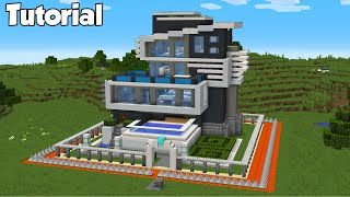 Minecraft How To Build The Safest Modern House Interior Tutorial Minecraftvideos Tv