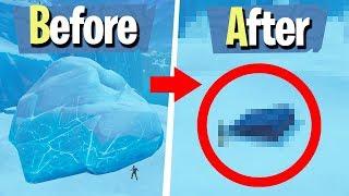 THE ICEBERG MELTED! - Fortnite Battle Royale
