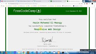 How To Get Free Code Camp Certificate