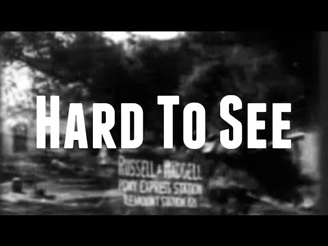 Kolton Moore & The Clever Few - Hard To See (Lyric Video)