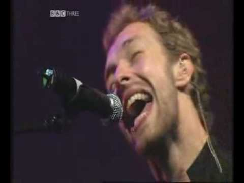 Coldplay Can't Get You Out Of My Head Glastonbury 2005