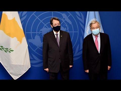 Ν. Αναστασιάδης: Σε δημιουργικό κλίμα η συνάντηση με τον ΓΓ ΟΗΕ …