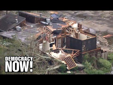 Hurricane Laura Devastates Gulf Coast, Laying Bare Climate Crisis, Environmental Injustice