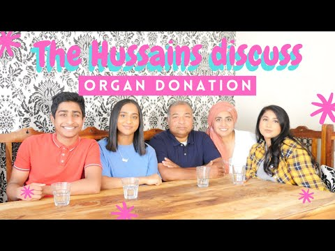 Family discussion about organ donation