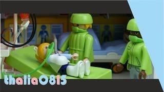 Der Unfall Und Die Operation Playmobil Film Deutsch Kinderklinik Kinderfilm Kinderserie