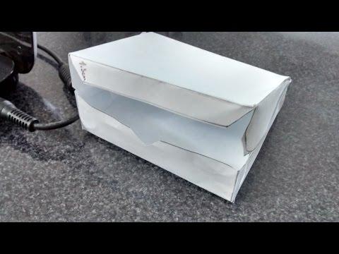 Como hacer una cajita para torta facil y rapido - GianyFashion