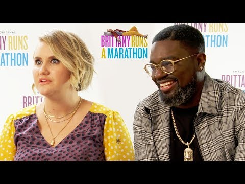 Jillian Bell, Lil Rey Howery & Utkarsh Ambudkar Interview for Brittany Runs A Marathon