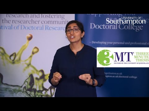 Susan Nazirizadeh, Three Minute Thesis | University of Southampton