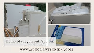 HOW I ORGANIZE MANAGEMENT OF MY HOME