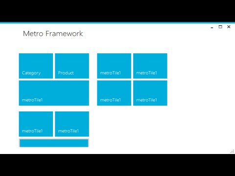 C# Tutorial - How To Use Winforms Modern UI Metro Framework | FoxLearn