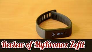 Review - MyKronoz ZeFit [ENG]