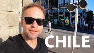 Ulice Santiago, Chile 4k
