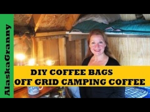 These DIY Coffee 'Pods' Make Brewing On The Go Easy
