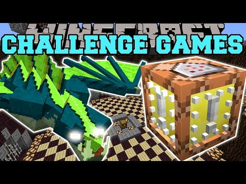 Minecraft: FLYING NAGA CHALLENGE GAMES - Lucky Block Mod - Modded Mini-Game