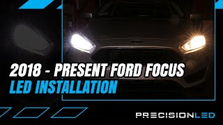 Ford Focus LED Headlights How To Install - 3rd / 4th Gen   2016+