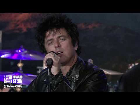 """Green Day """"Father of All…"""" Live on the Howard Stern Show"""