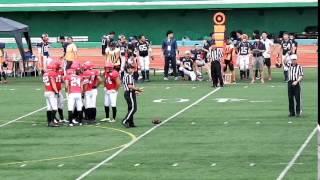アメリカンフットボール日韓親善試合PRIDEBOWL2015