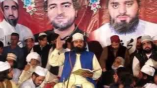 Sahibzada Peer Syed Ahmad Mohammad Shah Sahib At Wajdan Marriage Hall. (MIRZA UMER CHURAHI)
