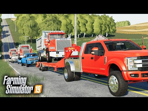 FS19- VERY FIRST 'TOW PIG CHALLENGE' | TOWING 30,000LBS UP