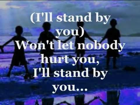 , title : 'I'LL STAND BY YOU (Lyrics) - THE PRETENDERS'