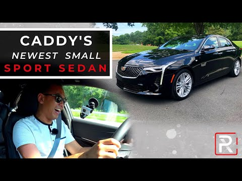 External Review Video SuXPNLD6daY for Cadillac CT4 Sedan