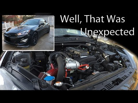 Genesis Coupe - HKS Blow Off Valve - Not What I Expected!