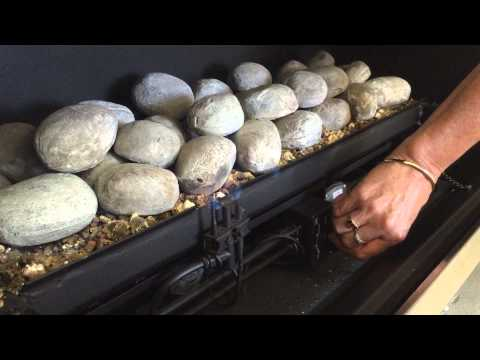 Warmington Gas fireplace- how to light