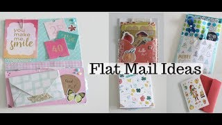 Flat Snail Mail Ideas   Sharing My Outgoing Mail