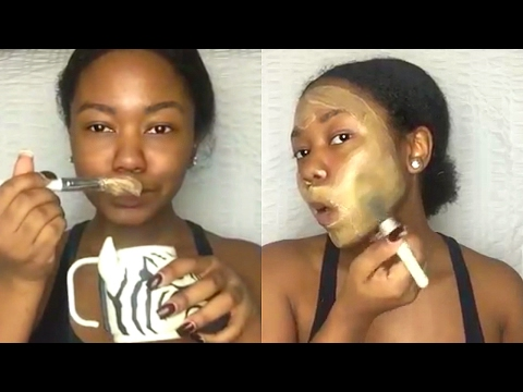 Make-up facial wrinkles