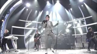 "So You Think You Can Dance - Adam Lambert sings ""Whataya Want From Me"" (English Subtitles) - HD"