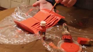 Промышленная краска для кожи, кожзама, резины и пластизоля ТМ Kolorstar 250 цветов от компании Профессиональные краски для кожи, кожзама, замши, нубука, резины и ПВХ - видео 1