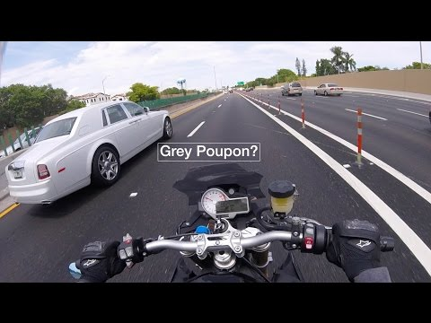 Pardon Me, Would you have any Grey Poupon? (BMW S1000R)
