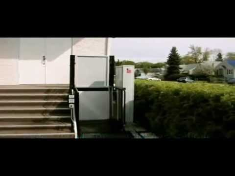 Exterior Wheelchair Platform Lift