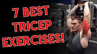 7 Tricep Exercises for Bigger Arms (DON'T SKIP THESE!)