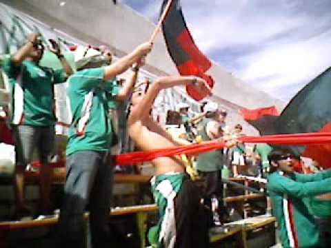 """""""LOS TANOS en Calama 2008"""" Barra: Los Tanos • Club: Audax Italiano"""