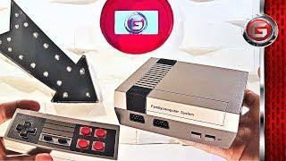 Mini Nes Retro 620 Video Game Console