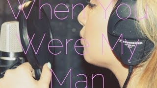 When You Were My Man (Bruno Mars) Cover by Karen Rodriguez
