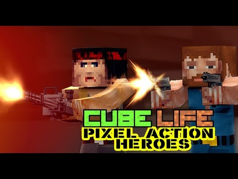 Cube Life: Pixel Action Heroes - GAME CHARACTERS official [ WiiU ] thumbnail