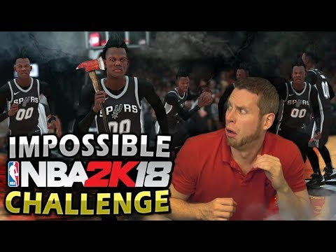 The IMPOSSIBLE NBA 2K18 Challenge