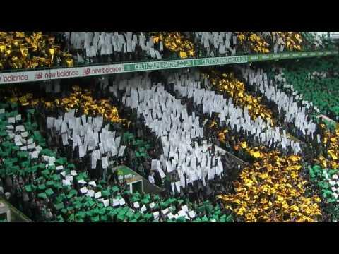 Lisbon Lions Tifo 50TH Ann, Celtic Park 21-05-17 + Walk On