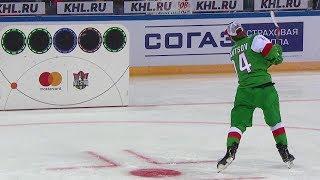 Матч Звезд КХЛ 2019: Хоккейный биатлон