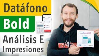 Video: Datáfono Bold - Análisis E Impresiones
