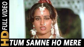 Tum Samne Ho Mere  Lata Mangeshkar  <b>Badle Ki Aag</b> 1982 Songs  Dharmendra Reena Roy Jeetendra