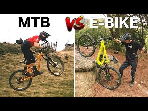MTB vs E-BIKE | Game of BIKE ⚔️