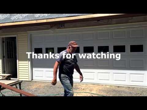 16' Garage Door Install