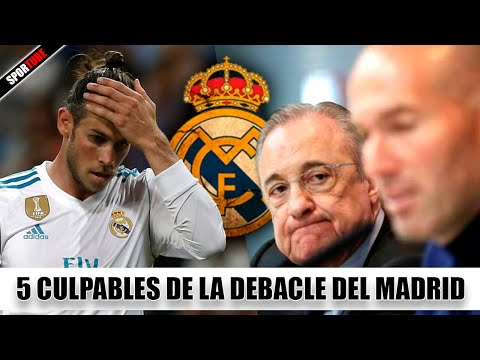 5 Culpables del DESASTRE del REAL MADRID